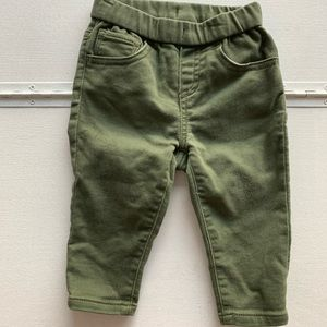 Light weight, army green pants